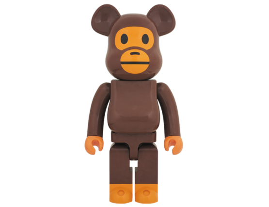Bearbrick - A Bathing Ape Baby Milo 1000%