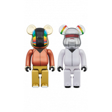 BEARBRICK - DAFT PUNK (DISCOVERY VER.) 2 PACK 400%