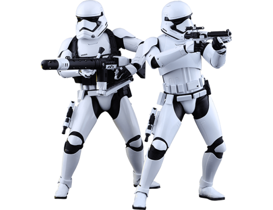 Фигурка 1/6  штурмовики - First Order Stormtroopers