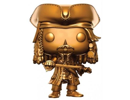 Funko POP Джек Воробей Золотой - Jack Sparrow Gold Ver.