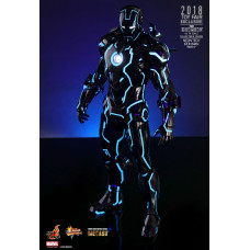 Фигурка 1/6 Железный человек - Neon Tech Iron Man Mark IV (MMS485D24)