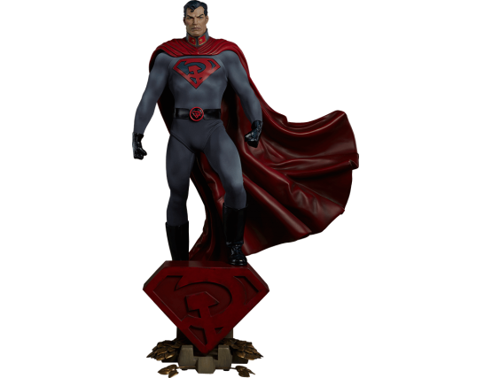Статуя Супермен - Superman Red Son Figure
