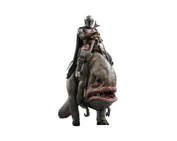 Фигурка 1/6 Мандалорец - Star Wars: Mandalorian & Blurrg Collectible Set (TMS046)