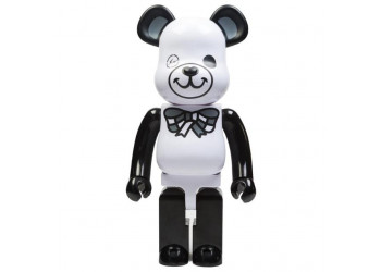 BEARBRICK - FREEMASONRY × fragmentdesign 1000% WHITE