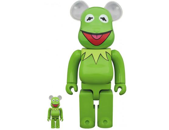 BEARBRICK - Kermit The Frog 100% & 400%
