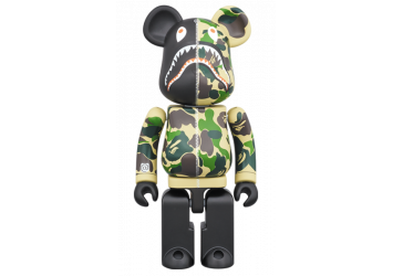 BEARBRICK- ABC CAMO SHARK 200%