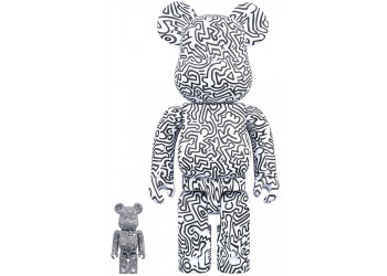 BEARBRICK - KEITH HARING #4 100% & 400%