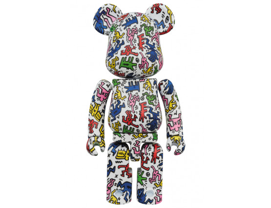 Bearbrick - KEITH HARING 200%