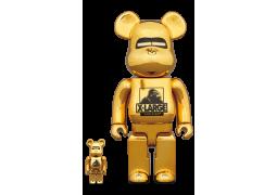 Bearbrick - XLARGE(R) × HAJIME SORAYAMA 100% & 400% GOLD
