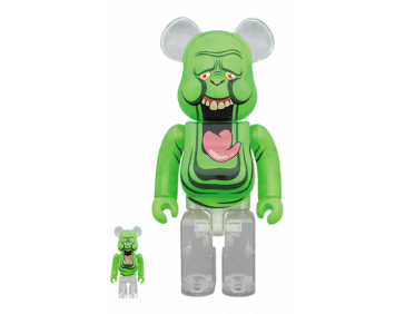 BEARBRICK - SLIMER (GREEN GHOST) 100% & 400%