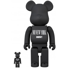 "BEARBRICK - BOOWY ""NO NEW YORK"" 100% & 400%"