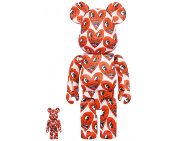 BEARBRICK - KEITH HARING #6 100% & 400%