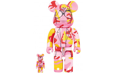 Bearbrick - Andy Warhol 100% & 400%