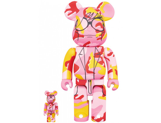 Bearbrick - Andy Warhol 100% & 400%