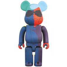 BEARBRICK - ANDY WARHOL SILK SCREEN VER. 1000%