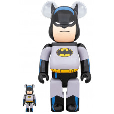 BEARBRICK - BATMAN ANIMATED 100% & 400%