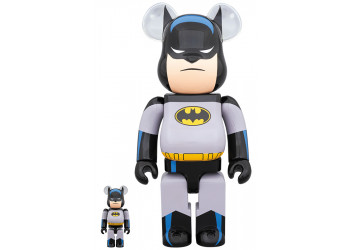 BEARBRICK - BATMAN ANIMATED 100% & 400%