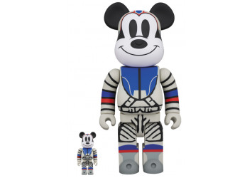 BEARBRICK - BILLIONAIRE BOYS CLUB  MICKEY MOUSE 100% & 400%
