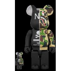 Bearbrick - BAPE × NEIGHBORHOOD 100% & 400%