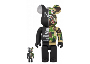 Bearbrick - BAPE × NEIGHBORHOOD 100% & 400%