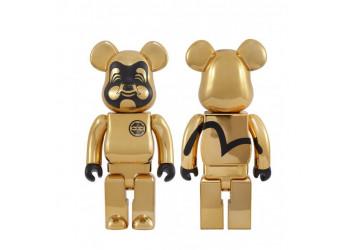 Bearbrick - EVISU 400% Gold-plated