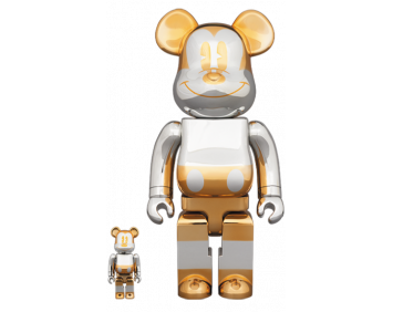 BEARBRICK - FUTURE MICKEY 100% & 400%