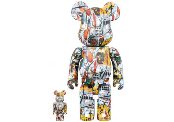 BEARBRICK - JEAN-MICHEL BASQUIAT 100% & 400%