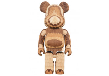 Bearbrick - Karimoku Fragment Wood 400%