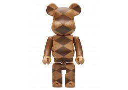 Bearbrick - Karimoku Wooden Woven 400%