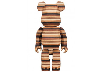 Bearbrick - KARIMOKU Fragment Design 400% Polygon HORIZON