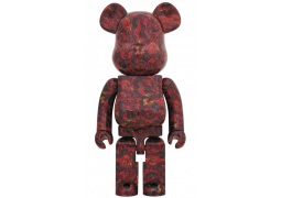 Bearbrick - mika ninagawa LEATHER ROSE 1000%