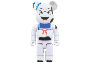 BEARBRICK - STAY PUFT MARSHMALLOW MAN ANGER FACE 400%