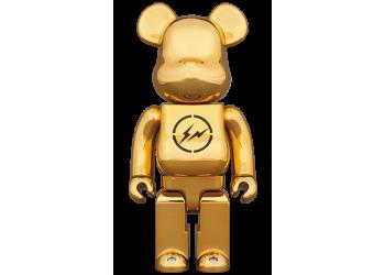 Bearbrick - THE CONVENI × fragmentdesign 400% GOLD