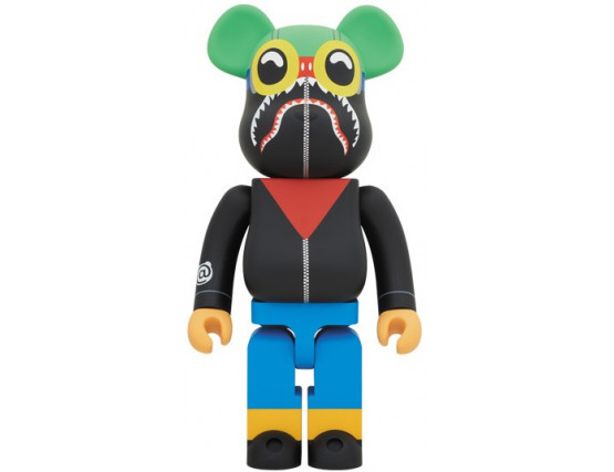 Bearbrick - A Bathing Ape Bape X HERBU BRANTLEY 1000%