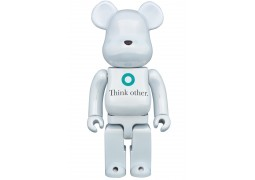 Bearbrick - i am OTHER White ver. 400%