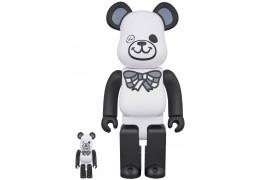 Bearbrick - FREEMASONRY × fragmentdesign 100% & 400% WHITE