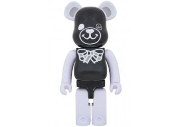 BEARBRICK - FREEMASONRY × fragmentdesign 1000% BLACK