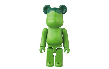 Bearbrick - JELLYBEAN (green) 100%