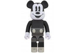 BEARBRICK - MICKEY MOUSE (B&W Ver.) 1000%