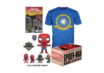 Funko POP Бокс Человек-паук - Box Spider-Man Homecoming