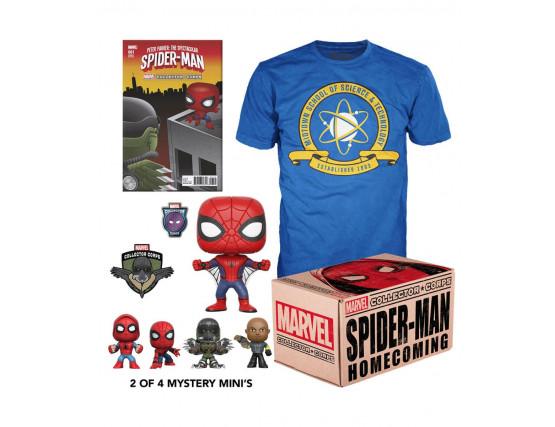Funko POP Бокс Человек-паук - Box Spider-Man Homecoming