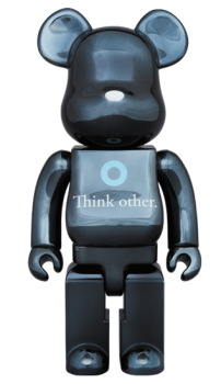 Bearbrick - I am OTHER BLACK Ver.400%