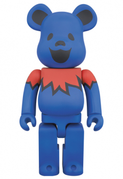 BEARBRICK - GRATEFUL DEAD DANCING BEARS 400%