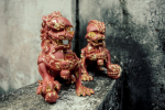 Фигурки XXRAY PLUS - Foo Dogs Set (Terracotta)