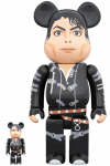 "BEARBRICK - MICHAEL JACKSON ""BAD"" 100% & 400%"