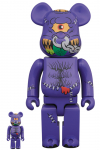 BEARBRICK - HORN HEAD 100% & 400%